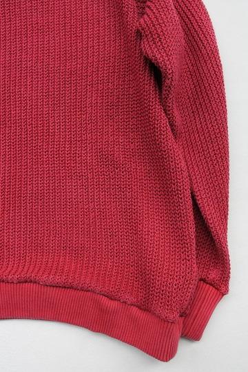 Goodon Crew Cotton Sweater P RED (3)
