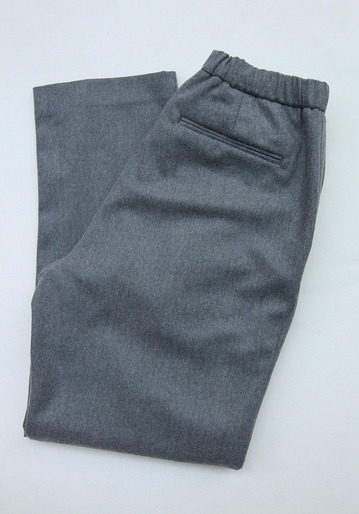 CEASTERS 2Pleats Easy Trousers GREY  by Burel