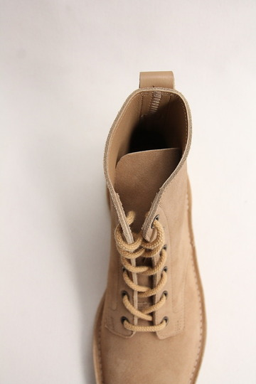 Suffolk Shoes Desert Hi Top SAND Suede (6)