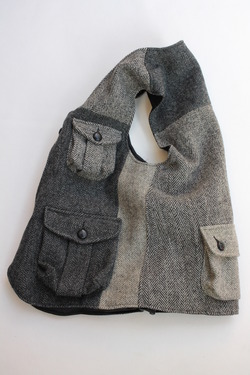 Keaton Chase Remake Harris Tweed Hunting Vest (2)