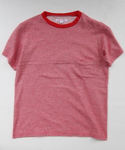 NOUN Horizontal Tee Micro Border RED
