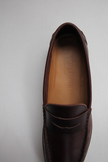 Punto Pigro Coin Lofer with Vibram BROWN (5)