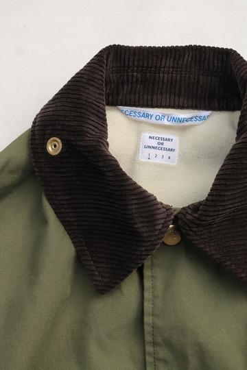 NOUN Coach Coat OLIVE (3)