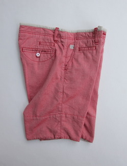Perfection 1461 Shorts Birds Eye RED (2)
