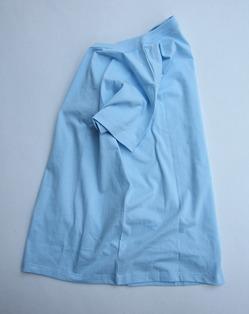 ARMEN Cotton Jersey Crew Neck S SL T Shirt CIEL (2)