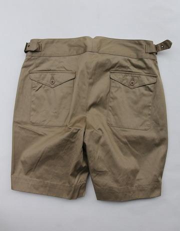 Keaton Chase Gurkha Shorts KHAKI (5)