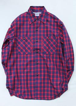 NOUN Check Shirt RED Check