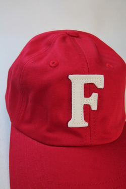 Felco Twill BB Cap RED F NATURAL (4)