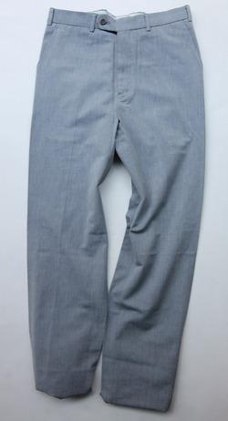 Mabitex Hair Lane Oxford Pants BLUE GREY