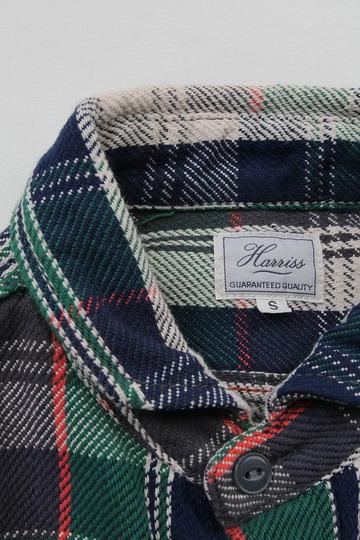 Harriss Short Wide Collar HW Nel GREEN (2)
