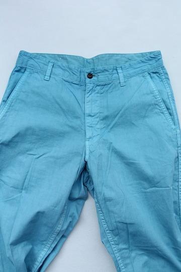 Sunlight Believer 9 Length Chino BLUE (3)