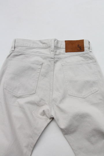 Empire & Sons 5Pocket Straight Taperd Pique Pants SAND BEIGE (3)