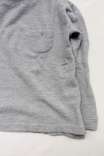 MAXOU Cotton Wool Pique Turtle GREY (3)