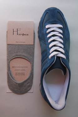 H Footwear Coverd Socks Anti Slip System GREY (2)