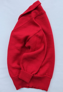 Richmond Knitwear Submariner Shawl RED (3)
