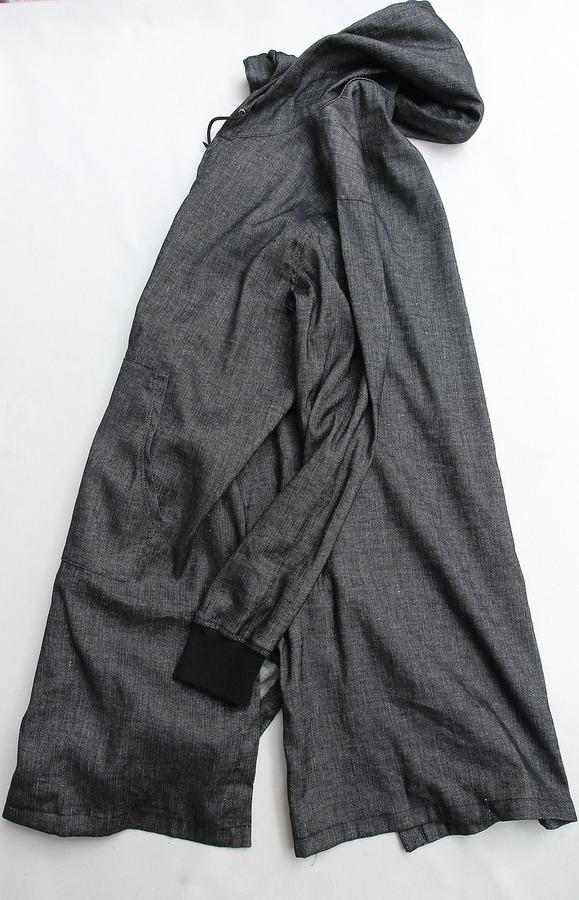 eterno Hood Coat AST 00 BLACK (4)
