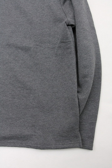 Quotidien Cotton Fleece Boatneck  ANTHRACITE CHINE (3)