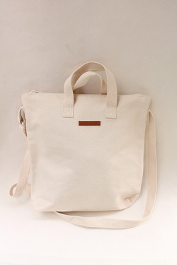ma moo 2 Way Tote Bag NATURAL