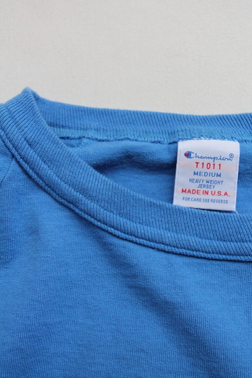 Champion T1011 Raglan Long Sleeve Tee LIGHT BLUE (3)