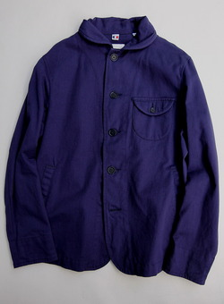 Ouvert RC Work Jacket F BLUE