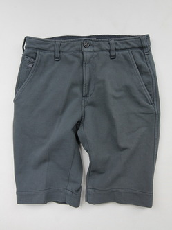 Perfection Cotton Pique Shorts MID GREY (2)