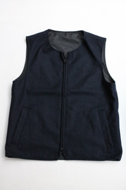 Boulder Mountain Style Reversible Wool Vest