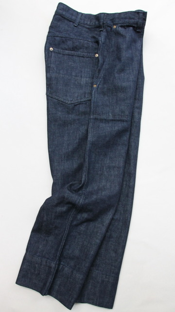 RICEMAN Work Pants INDIGO (6)
