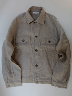 RICEMAN Work Shirt Jacket OATMEAL