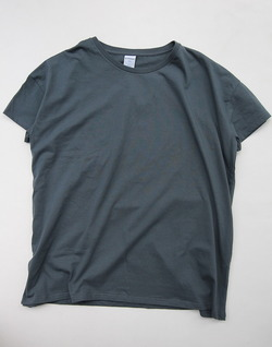 Quotidien Fine Jersey Tee Loose Fit GREY