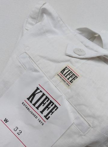 KIFFE Wide Baker Pants WHITE (2)