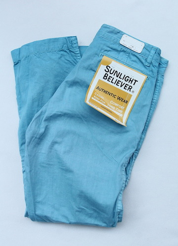 Sunlight Believer 9 Length Chino BLUE