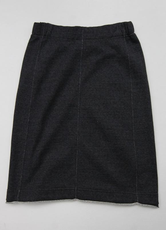HARRISS GRACE Cotton Melange Sweat BLACK