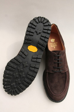 Crown Northampton Apron Shoes DK BROWN (6)