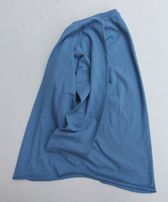 Goodon Baseball Tee SMOKE BLUE (4)