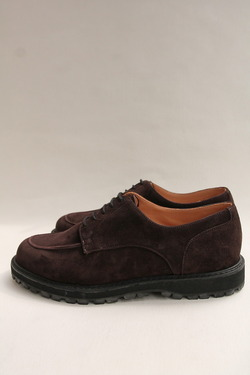 Crown Northampton Apron Shoes DK BROWN (4)