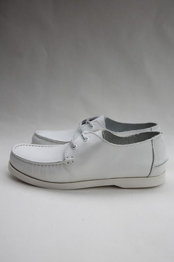 Wandershoes Leather Deck WHITE (4)