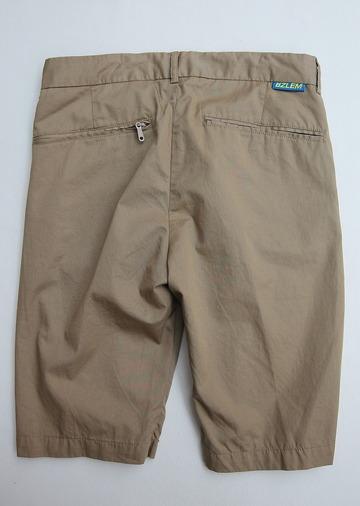 NOUN Zip Shorts KHAKI (4)
