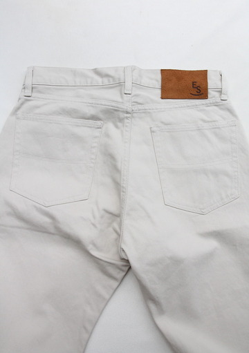 Empire & Sons 5Pocket Straight Taperd Pique Pants SAND BEIGE (4)