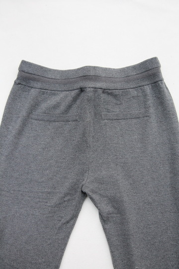 YaYa Wool Sweat Pants DARK GREY MELANGE (5)