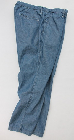 FOB Carlo Chambray Trousers (2)