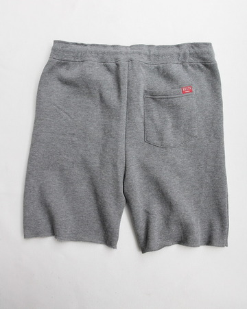 BRIXTON Folson Sweat Short HEATHER GREY (5)