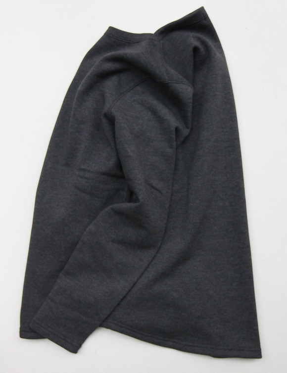 Harriss TC Snow Top Boatneck CHARCOAL