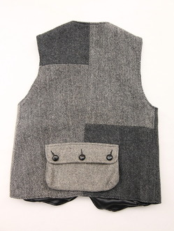 Keaton Chase Remake Harris Tweed Hunting Vest (6)