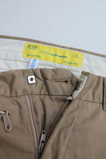 NOUN Zip Shorts KHAKI (2)