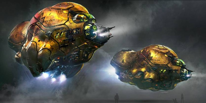 Guardians of the Galaxy Vol.2 Concept Art by George Hull