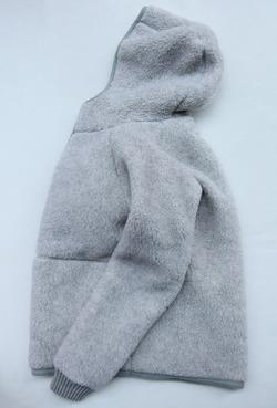 COLDBREAKER Hood Jacket LIGHT GREY (2)