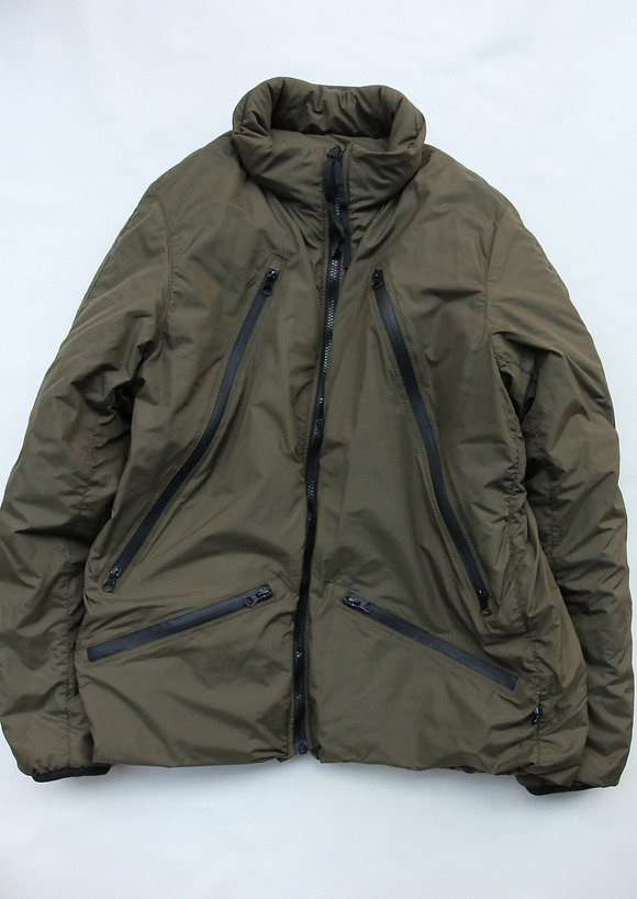 RIOT DIVISION Short Jacket to Parka GREEN