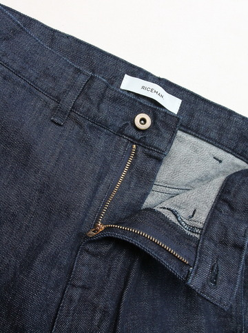 RICEMAN Work Pants INDIGO (2)