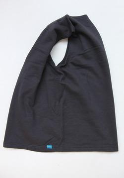 Goodon PO Crew Sweat Vest P BLACK (3)