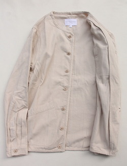 KESTIN HARE Neist Overshirt Cord WINTER WHITE (5)